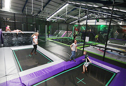 Party Bounce + lasergame
